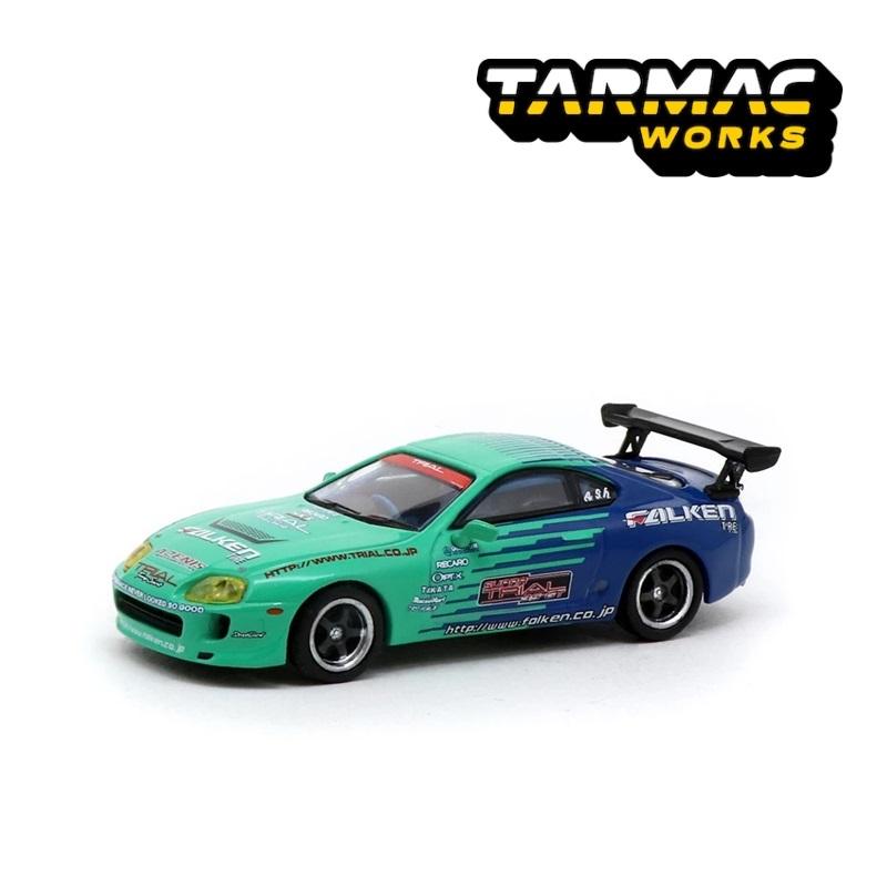 Tarmac Works 1:64 Toyota Supra Falken livery Diecast Model Car