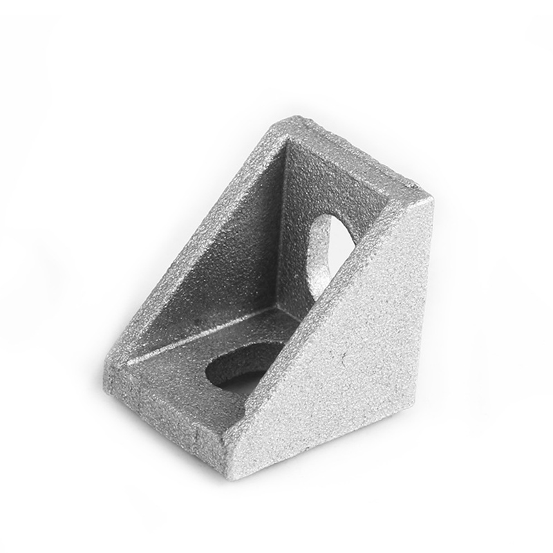 4Pcs 2020 System Aluminium Angle Code Nut Hole Support V-slot T-slot GV99