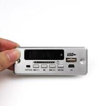 Bluetooth 5.0 MP3 Bộ Giải Mã Bộ Giải Mã Module Ô Tô Không Dây USB MP3 Người Chơi WMA WAV Khe Cắm Thẻ TF/USB/FM Từ Xa Mô đun