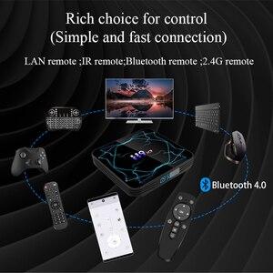Image 2 - ТВ приставка Amlogic S905X3, Android 9,0, 8K, H.265, медиаплеер, 3D видео, 2,4G и 5,8G, Wi Fi, 4 Гб ОЗУ, 32 ГБ, 64 ГБ, ТВ приставка