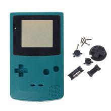Yeni tam konut Shell kapak için Nintendo Game boy renk GBC onarım bölümü konut kabuk paketi