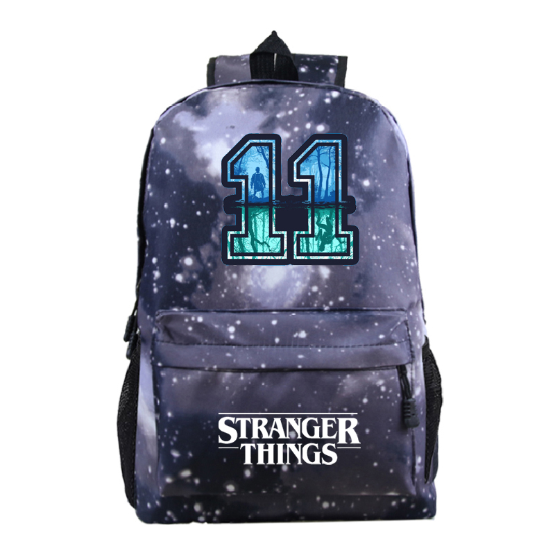 Stranger Things TV Series Backpack School Bags For Teenage Girls Boys Daily Backpack Kids Book Bags Casual Travel Bags Knapsack