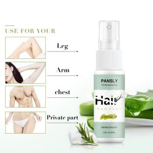 2020 New 30ml Fast Body Gentle Moisturizing Hair Removal Spray Natural Aloe Ingredients Smooth Care(China)