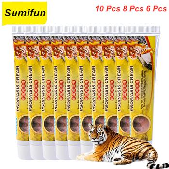 10 8 6 Pcs Problem skóry łuszczyca krem do pielęgnacji skóry Eczematoid wyprysk leczenie łuszczyca krem krem do pielęgnacji skóry krem do pielęgnacji tanie i dobre opinie Sumifun CN (pochodzenie) Antibacterial Cream BODY P1140