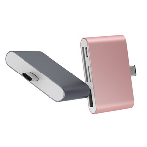 Image 3 - OTG USB3.1 тип c кардридер USB C к USB2.0 SD TF Micro USB многофункциональный переходник для телефона компьютера передачи данных использования