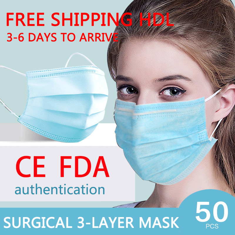 CE Certification Anti-Pollution 3 Laye Mask Dust Protection  Disposable Dustproof Face Mouth Masks Anti PM2.5 Mask