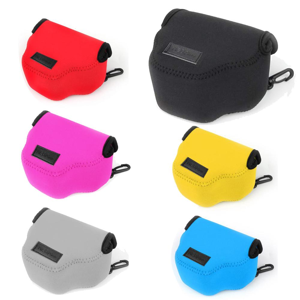 Neoprene Original Portable Soft Camera Case Bag for <font><b>Canon</b></font> <font><b>Powershot</b></font> SX430 SX420 <font><b>SX410</b></font> SX400 SX510 SX500 <font><b>IS</b></font> Compact Digital Camer image