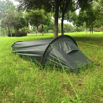 Camping Tent Travel Backpacking Tent Outdoor Camping Sleeping Bag Tent Lightweight Single Person Tent палатка туристическая 2