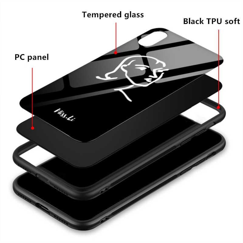 Духовная стена Библейские стихи искусство закаленное стекло телефонные чехлы для iPhone 5 5S SE 6 6s 7 8 Plus X XS Max XR задняя крышка