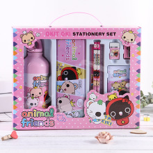Creative stationery set cartoon primary school luxury kettle gift box childrens holiday package