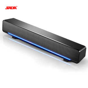 SADA USB Wired Powerful Computer Speaker Bar Stereo Subwoofer Bass speaker Surround Sound Box for PC Laptop phone Tablet MP3 MP4(China)
