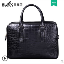 heimanba Crocodile-skin belly bag for men business bag for men  leather bag fashion leisure new style men handbag heimanba crocodile men handbag men small double zipper multi card youth luxury real leather thai crocodile handbag business bag