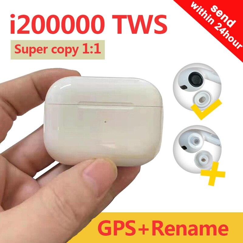 Original I200000 TWS Bluetooth Earphone Wireless Headset 1:1 Tws Air 3 Pro Pop-Up 8D Hifi Head Phone PKi100000 AP Pro TWS MX Pro