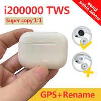 Original i200000 TWS auricular Bluetooth auricular inalámbrico 1:1 tws 3 Pro de Pop-Up 8D Hifi auricular PKi100000 AP pro TWS MX pro