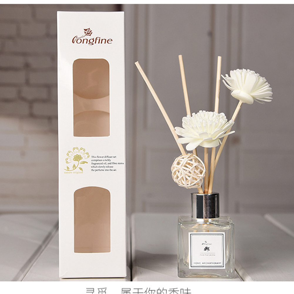 Office Fragrance No Fire Exquisite Portable Home DIY Aroma Diffuser Set Purifying Air Aromatherapy Decoration Car Rattan Sticks