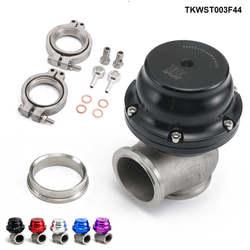 V44 MVR 44mm V zespół zewnętrzny Wastegate zestaw 24PSI kolektor wydechowy lub nagłówek odpadów bramy TKWST003F44
