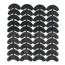 40 штук, 20 пар резиновых пятки для обуви, ремонтные колодки, размер: 56*24*3,1 мм