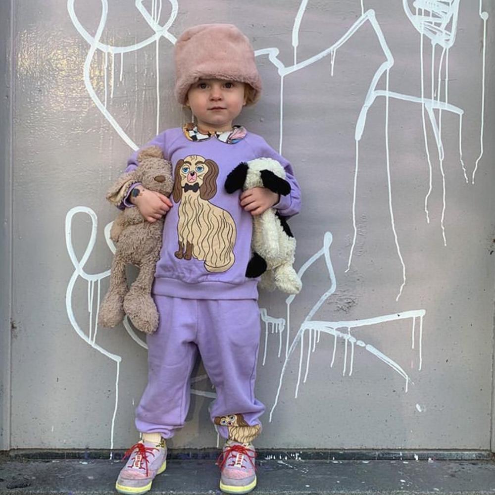 Mini R Kids Sweatshirt Long Sleeve T-Shirts Boys Girls Casual Cartoon Top New Autumn Winter Toddler Cotton Tee Children Clothes 5