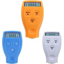 GM200 цифровой прибор для измерения толщины краски с покрытием, тестер, Немагнитный прибор для измерения толщины поверхности автомобиля