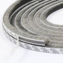 Zelfklevende Afdichting Wind-Proof Borstel Strip Voor Thuis Deur Venster Diepgang Excluder Brush Weer Strip Seal Tape strip Pakking