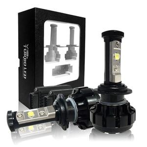 Image 5 - CNSUNNYLIGHT Super Bright Car LED Headlight Kit H4 H13 9007 Hi/Lo H7 H11 9005 9006 w/ XHP50 Chips Replacement Bulbs 6000K Lights