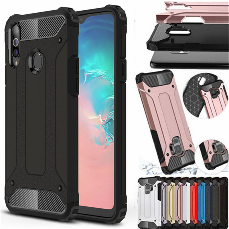 For <font><b>Samsung</b></font> Galaxy A10S A20S Case Hybrid Tough Shockproof Armor Heavy Duty Back Phone Case For Galaxy <font><b>A10</b></font> S A20 S Back <font><b>Cover</b></font> image