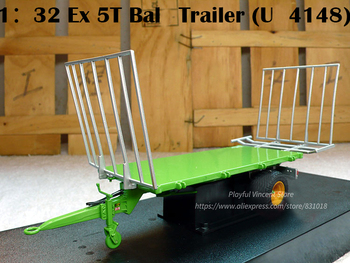 rare  Special Offer  1:32  Ex 5T (U4148)  Tractor accessories  Model of farm truck bucket  Alloy Collection Model