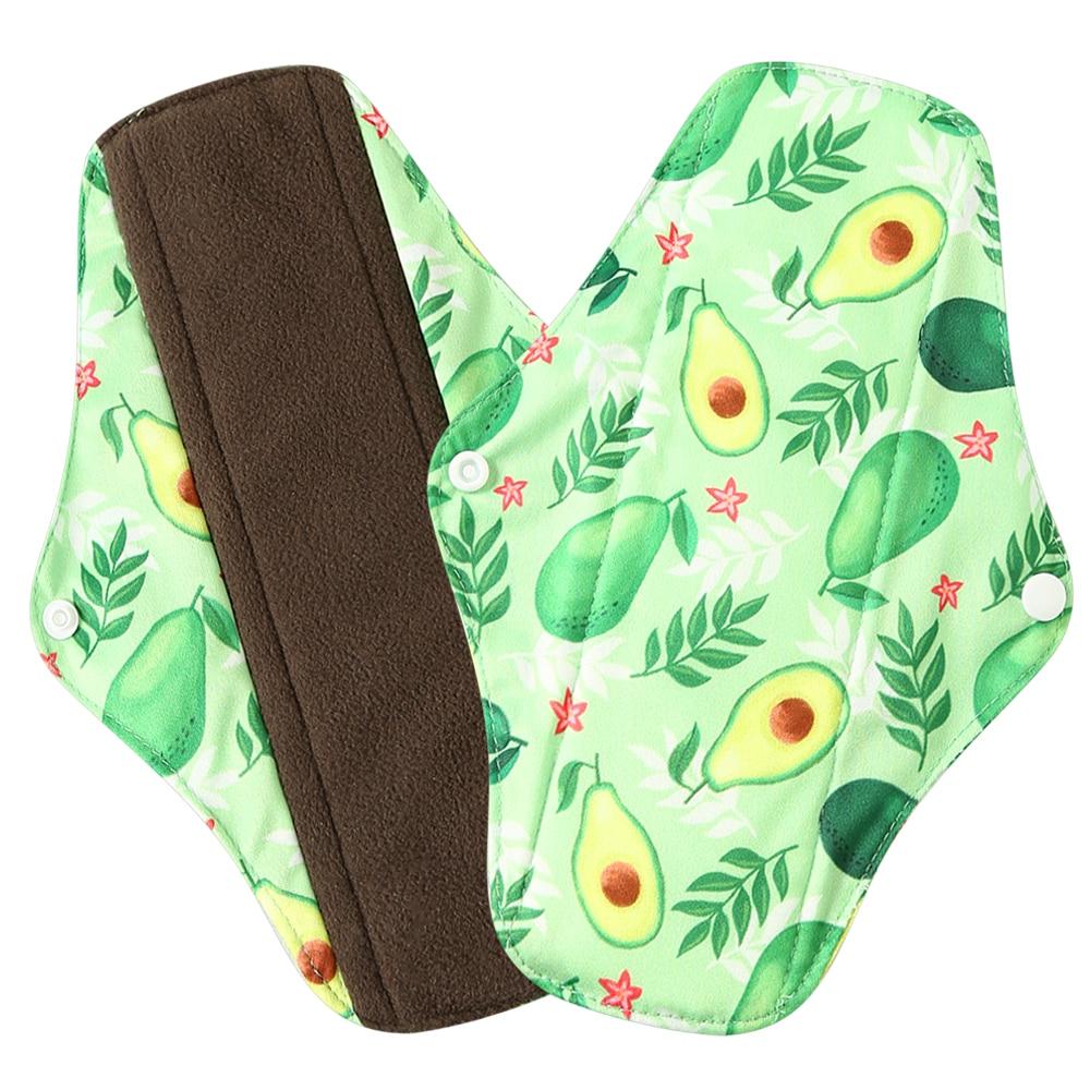Многоразовые колготки с бамбуковым углем внутренние гигиенические прокладки Macaron Цвета Lecy Eco Life менструальные прокладки хорошо впитывающие прокладки Mama