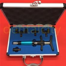 Chiropractie Aanpassen Tool Wervelkolom Activator 6 Niveaus 4 Heads Therapie Handleiding Chiropractie Aanpassen Pistool \ Instrument