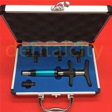 Chiropraktyka narzędzie do regulacji kręgosłupa aktywator 6 poziomów 4 głowice terapia instrukcja chiropraktyka regulacja pistoletu \ Instrument