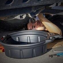 10L поддон для слива масла был двигатель масляный коллектор бак трансмиссионного масла туда и обратно лоток для ремонта автомобилей топлива ...