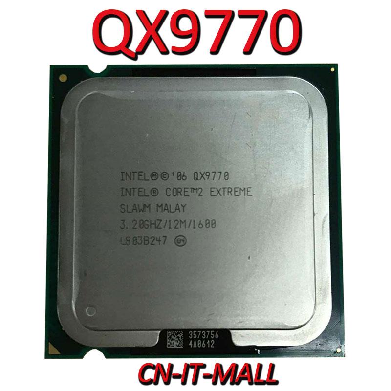 Intel Core QX9770 CPU 3.2G 12M 4 Core 4 Thread LGA775 Processor