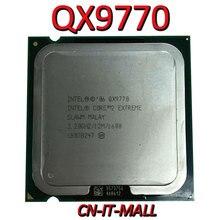 インテルコア QX9770 CPU 3.2 グラム 12 メートル 4 コア 4 スレッド LGA775 プロセッサ