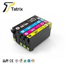 Tatrix dla epson 407 407XL T407 T407XL C13T07U140 Premium kolor kompatybilny wkład atramentowy do drukarki Epson WorkForce WF-4745