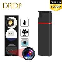 Mini câmera de vigilância, 1080p, full hd, noturna, ultra-compacta, dv, dvr, portátil, segurança ao ar livre