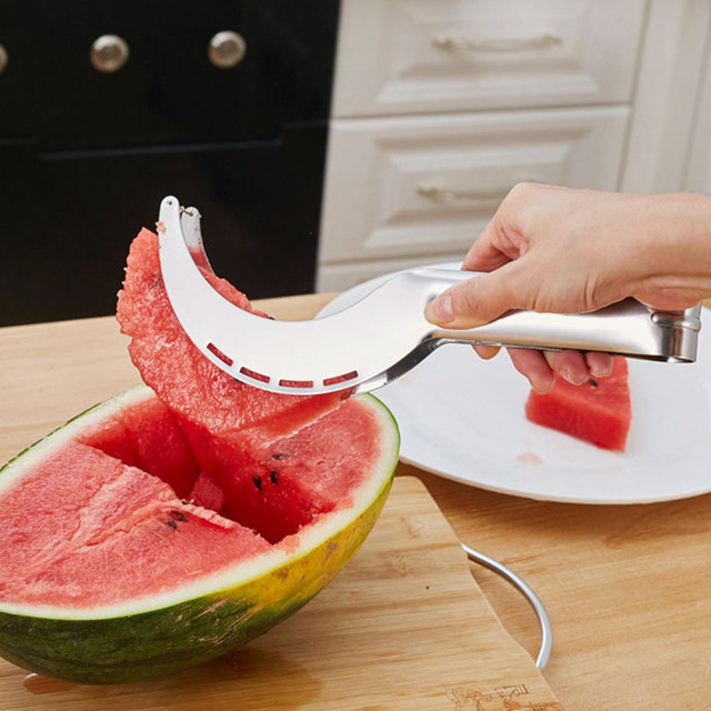 Stainless Steel Watermelon Slicer Cutter Knife Corer Fruit Vegetable Tools Kitchen Gadgets Accessories utensilios cooking 3
