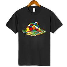 High quality fashion TShirt Men Magic Square design tshirts Short sleeve T-shirts Cotton Clothing harajuku funny t shirt