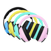 Kids Hearing Protector Soft Earmuffs for Baby Care Noise Reduction Ear Protection Ear Muffs for 3 Months-4 Years Old Child