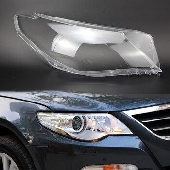 2 個レンズ透明ランプシェードヘッドライトカバー透明プラスチックランプ保護カバー用パサート CC 2009 2015 ランプフード    -