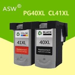 2PK PG40 CL41 atrament kartridż do canona pg 40 cl 41 PG-40 Pixma iP1800 iP1200 iP1900 iP1600 MX300 MX310 MP160 MP140 drukarki