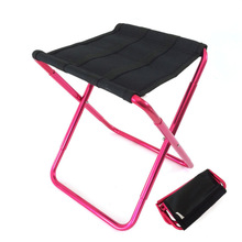 Aluminum Alloy Folding Stool Fishing Chair Outdoor Leisure Outing Fourfold Storage