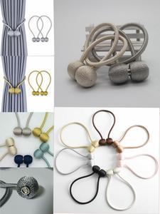 Buckle-Holder Curtain-Strap Window-Decorative-Accessories Magnet Home-Textile Creative