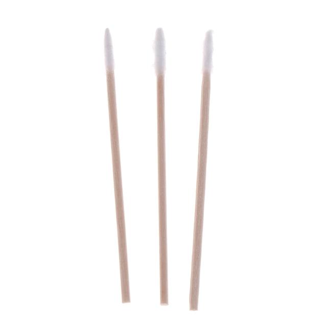 300pcs Cotton Buds Swabs Handle Wooden Handle Tattoo Makeup Microblade Cotton Swab Sticks Makeup Cotton Swabs 1