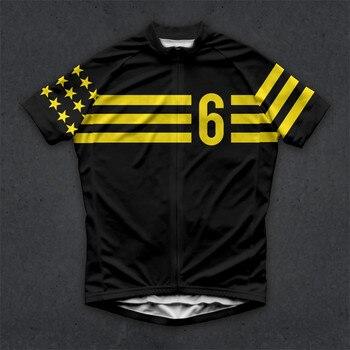 цена на Strava Cycling Jersey Short Sleeve 2020 Twin Six Pro Team Men Bike Shorts Clothes Maillot Cycling MTB Clothing Ropa Ciclismo