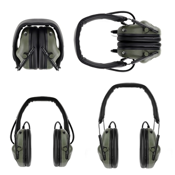 (Tactical) Headphone Noise Cancellation Pickup Headset Hunting Shooting Game Accessories