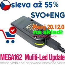 VAGCOM 20.12 Diagnostický propojovací kabel HEX V2 komunikační linku K1/K2 CAN číst použití VCIcoding Scan programu systémy ABS