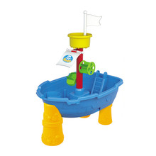 Beach Buckets Sand-Table-Toys Playing Water-Pirate Outdoor Children's of for Ship-Model