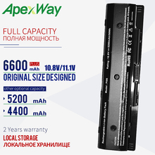 ApexWay 6 cells laptop battery PI06 for Hp Envy 15 17 TouchSmart Pavilion HSTNN-LB40 LB40O LB4N LB4O