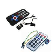 1 Set Infrarot Fernbedienung Modul Drahtlose IR Empfänger Modul DIY Kit HX1838 Smart Elektronik für Raspberry P