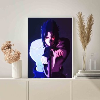 Anime Naruto Sasuke Picture Nordic Canvas HD Prints Home Decor Poster Wall Art Painting Framed Modular Modern For Living Room cartoon anime naruto poster painting nordic style prints modern wall art canvas painting wall pictures for living room decor